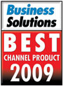 Business Solutions - 2009 Best Channel Products listing