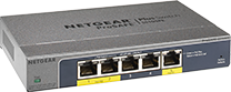 NETGEAR 5-Port Gigabit Smart Managed Plus Switch