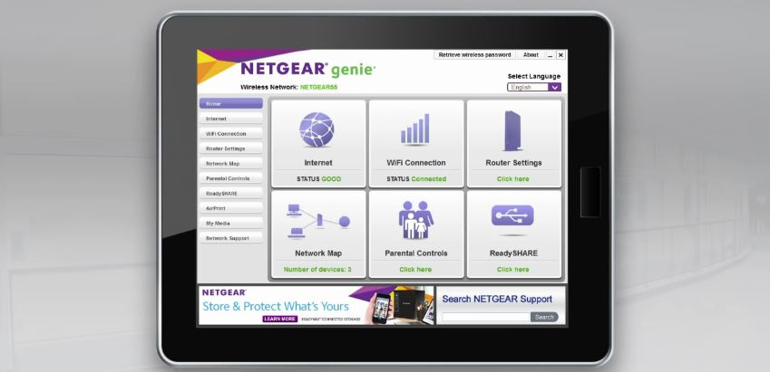 how to change wireless name in netgear dgn3700vs