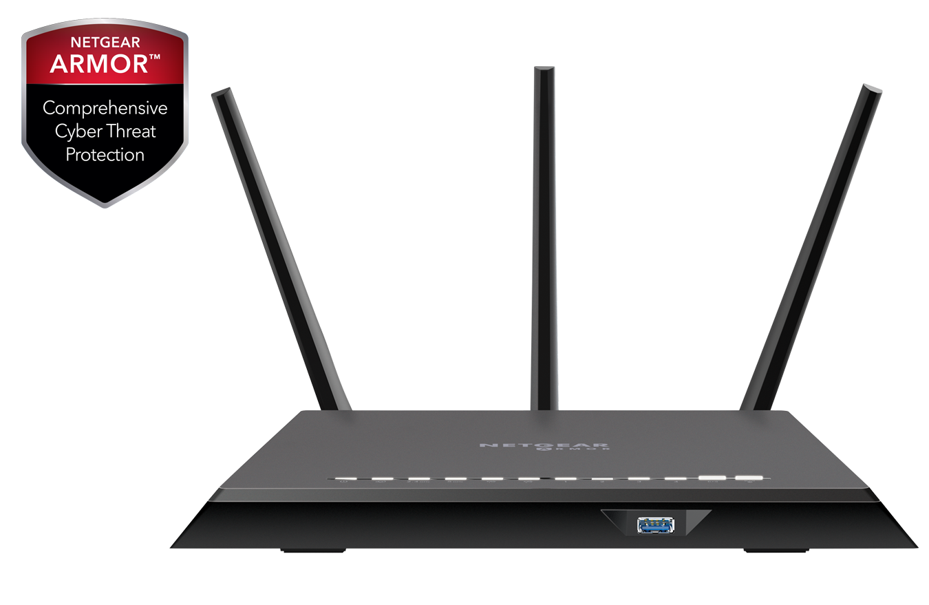 Nighthawk<sup><sup>®</sup></sup> Cybersecurity WiFi Router