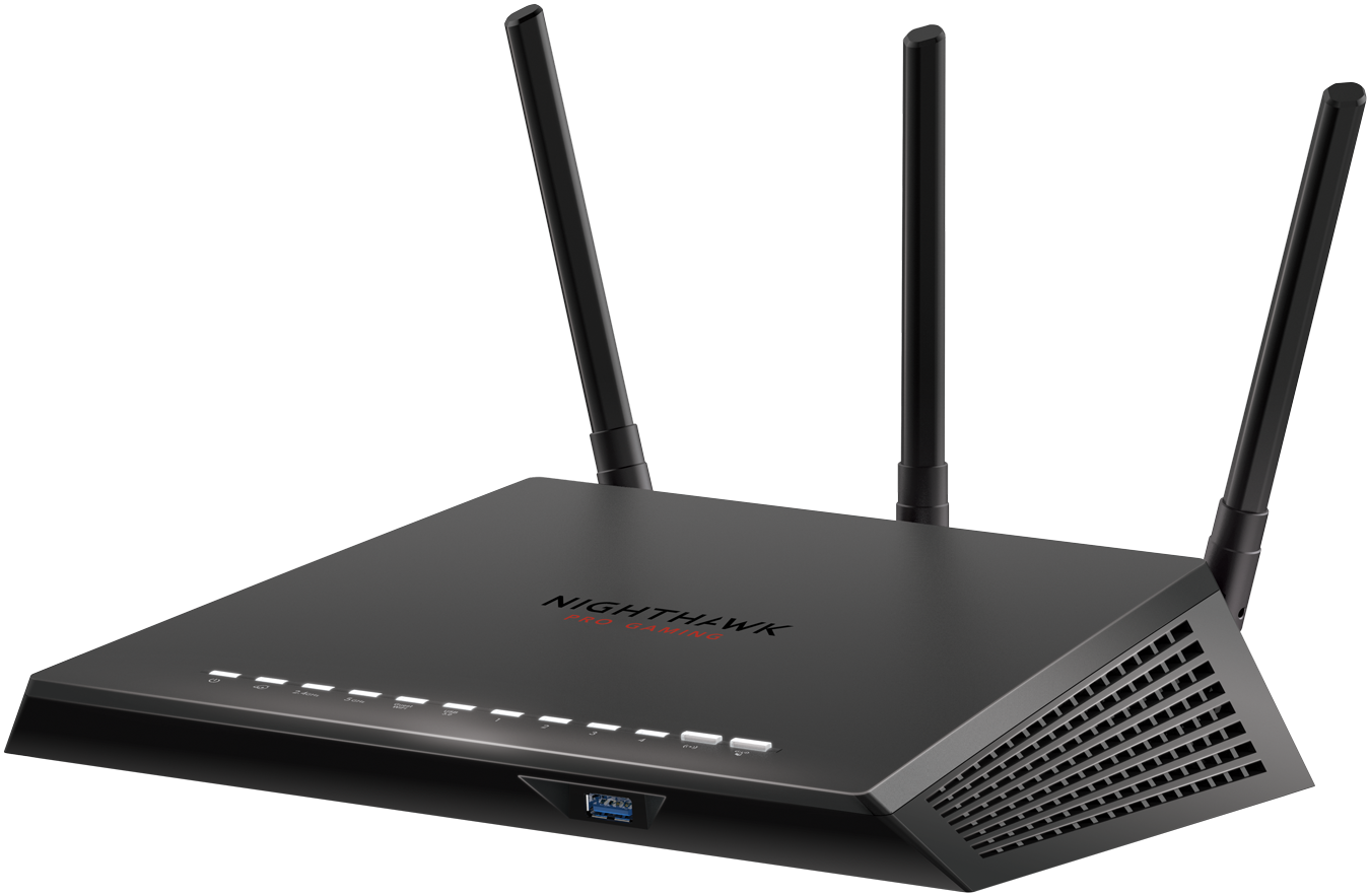 Router WiFi Nighthawk<sup><sup>®</sup></sup> Pro Gaming AC2600